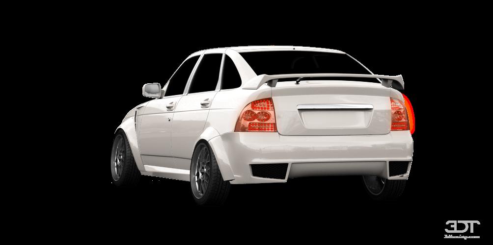 Lada Priora 2172 5 Door Hatchback 2012 tuning