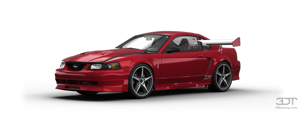 Mustang Cobra R Coupe 2000 tuning