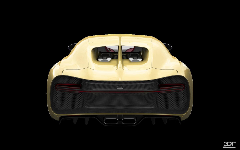 Bugatti Chiron 2 Door Coupe 2016 tuning