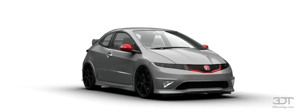 3dtuning Of Honda Civic Type R 3 Door 2007 3dtuning Com