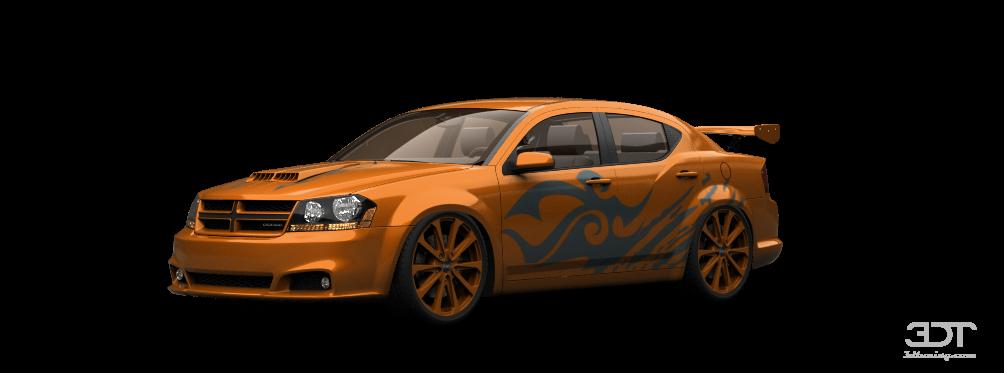 Dodge Avenger Sedan 2011 tuning
