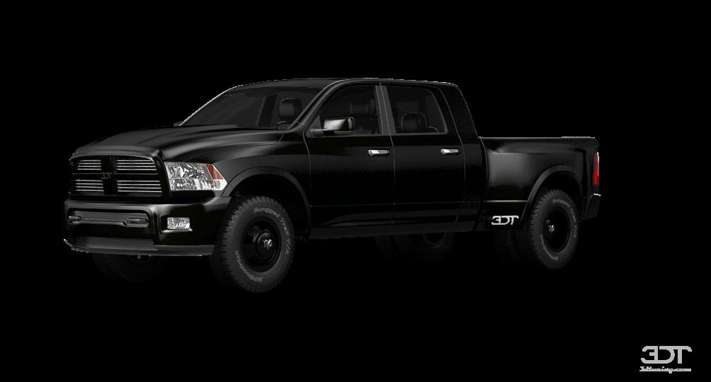 Dodge RAM 3500 Mega Cab DRW Truck 2014 tuning