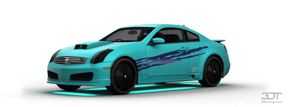 Nissan Skyline Coupe 2003 tuning