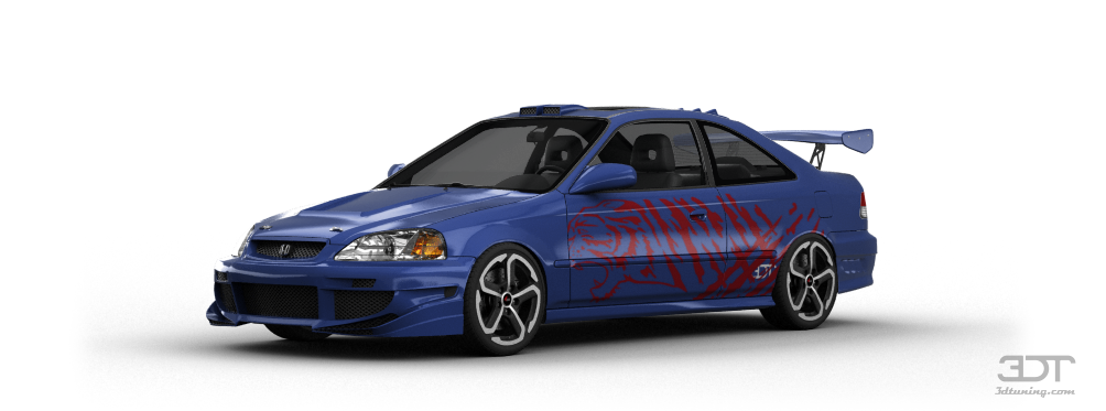 Honda Civic Si Coupe 1999 tuning