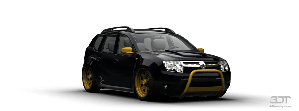 3dtuning Of Renault Duster Crossover 2012 3dtuning Com