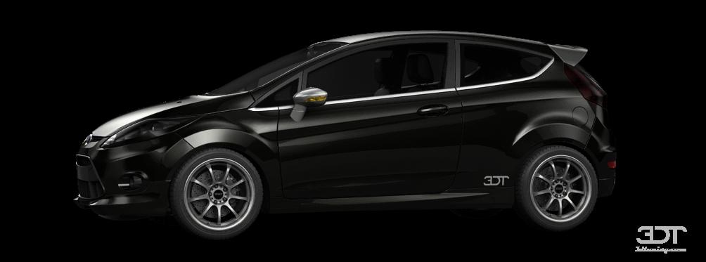 Ford Fiesta 3 Door 2008 tuning