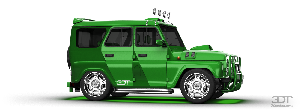 UAZ Hunter SUV 2012 tuning