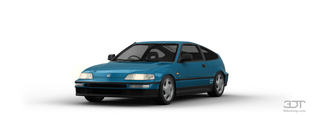 3dtuning of honda cr x sir 3 door hatchback 1991 unique on line car configurator. Black Bedroom Furniture Sets. Home Design Ideas