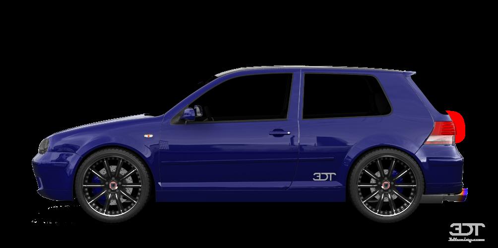 3dtuning Of Volkswagen Golf 4 Mk4 3 Door Hatchback 2004