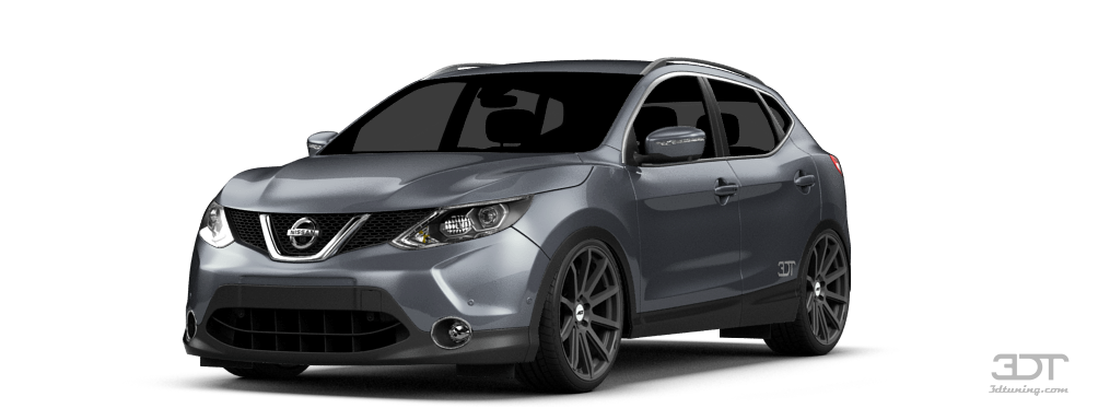 3dtuning of under construction nissan qashqai crossover. Black Bedroom Furniture Sets. Home Design Ideas