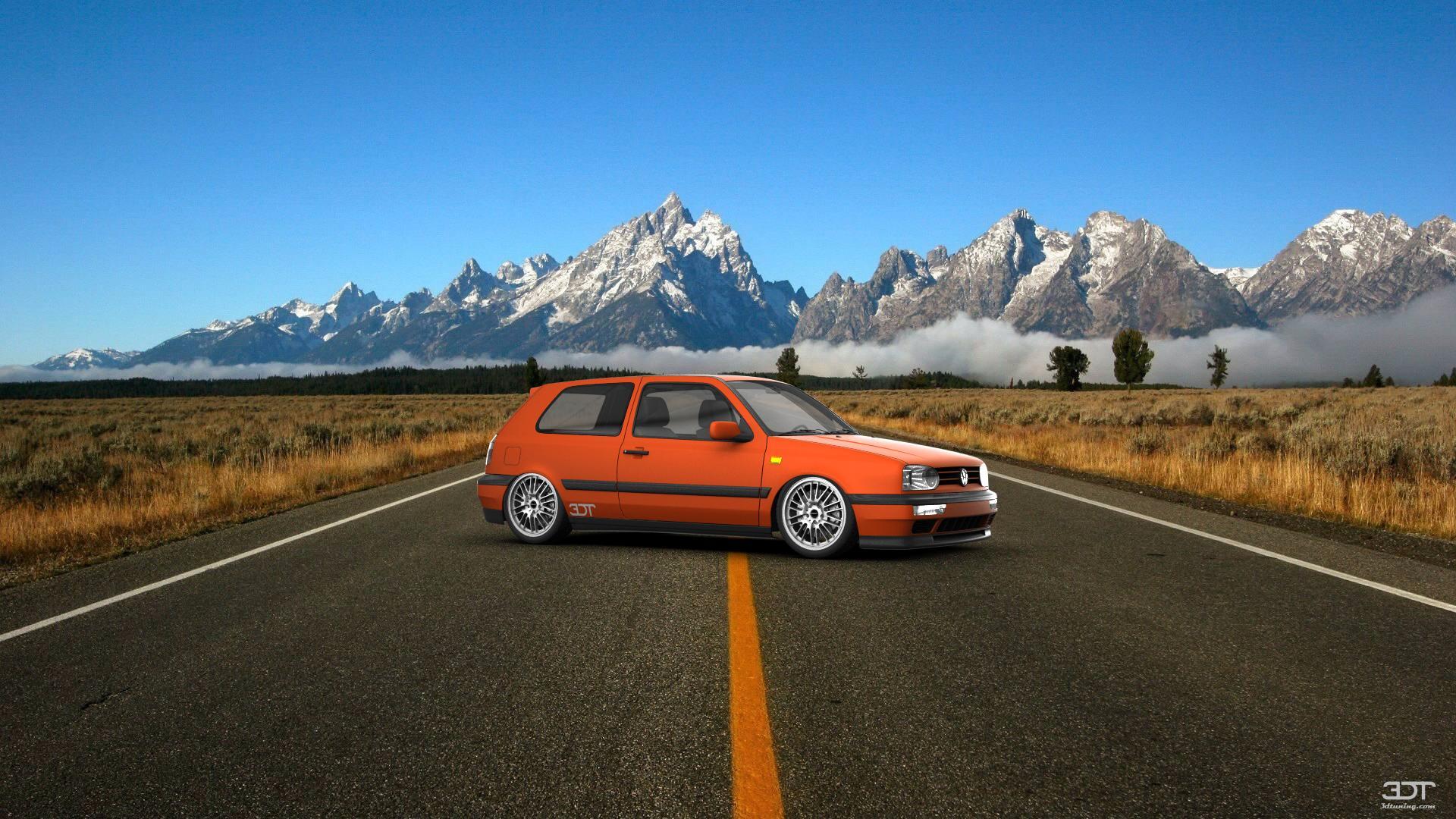 Volkswagen Golf 3 3 Door Hatchback 1991