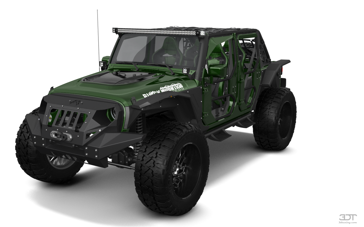 Jeep Wrangler Unlimited Rubicon Recon 4 Door SUV 2017 tuning