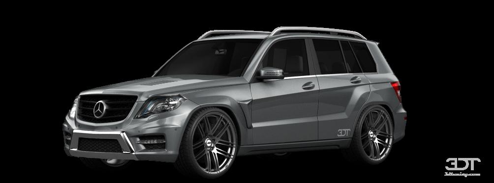 Mercedes GLK class SUV 2013 tuning