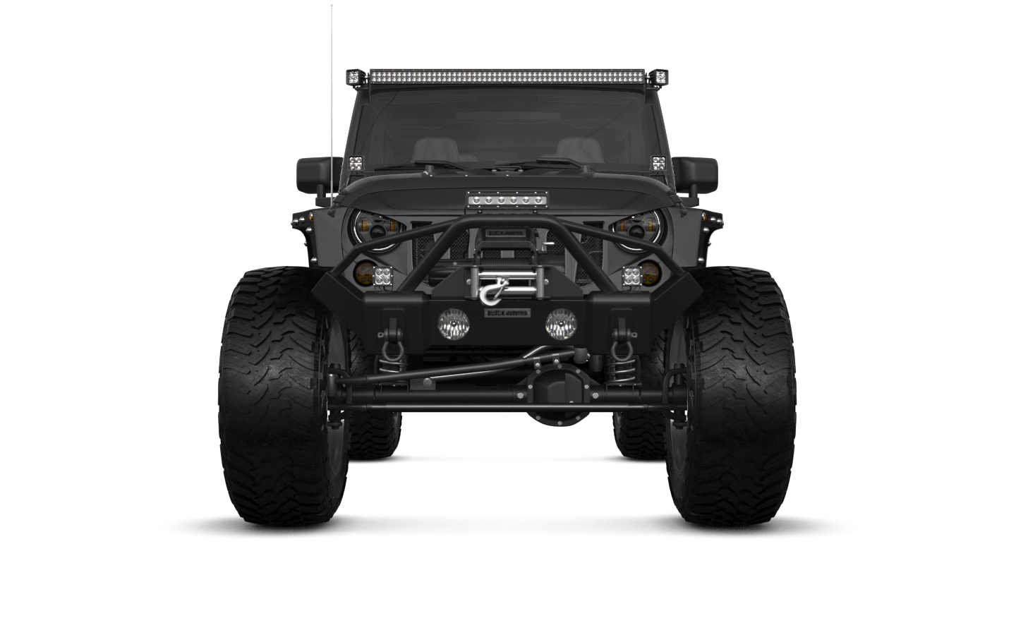 Jeep Wrangler Unlimited Rubicon Recon'17