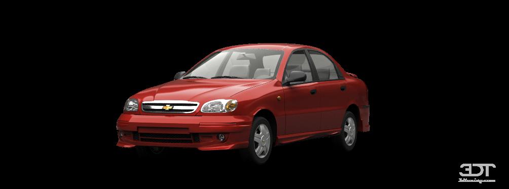 Chevrolet Lanos Sedan 2012 tuning