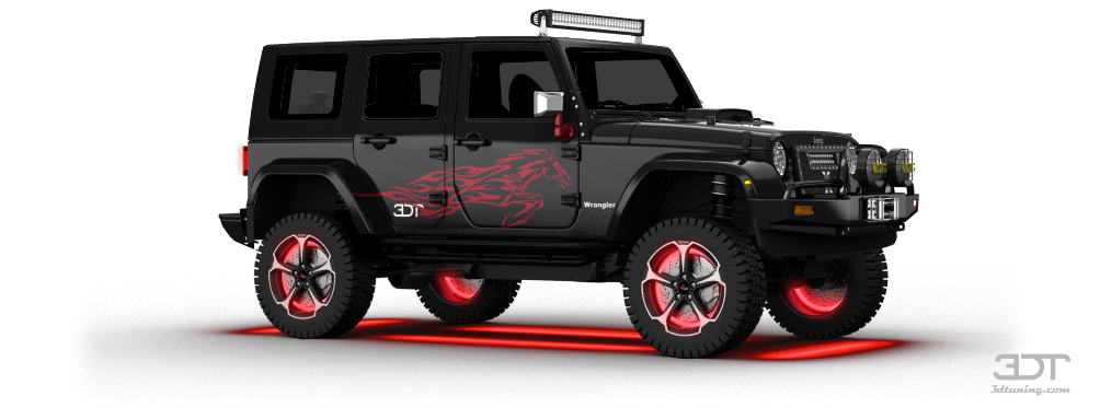 3dtuning of jeep wrangler unlimited suv 2008 unique on line car configurator for. Black Bedroom Furniture Sets. Home Design Ideas