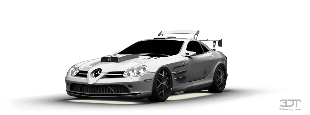 Mercedes SLR McLaren Coupe 2002 tuning