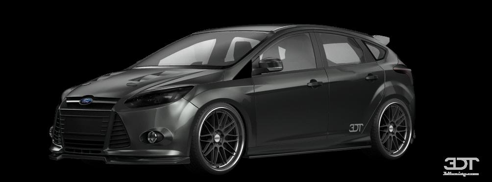Ford Focus 5 Door Hatchback 2012 tuning