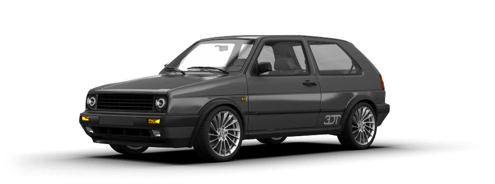 Volkswagen Golf 2 Gti 3 Door Hatchback 1990 tuning