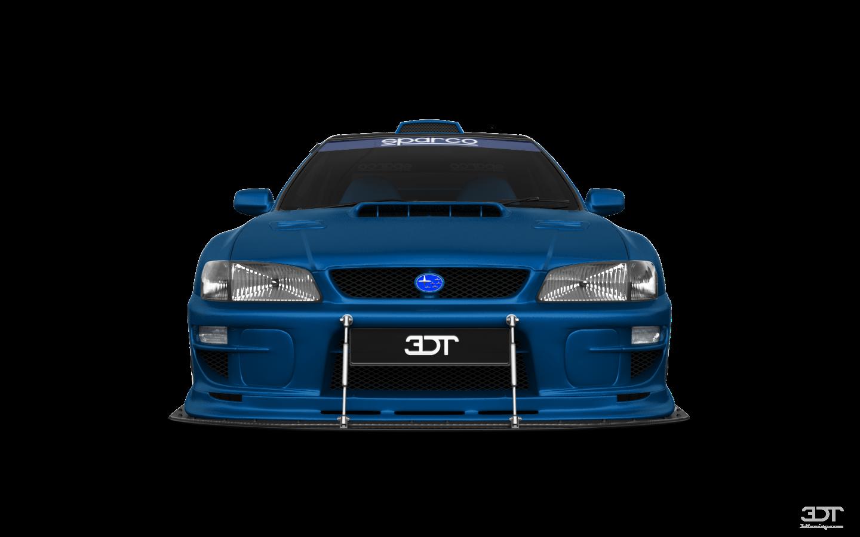 Subaru Impreza WRX STI 22B'00