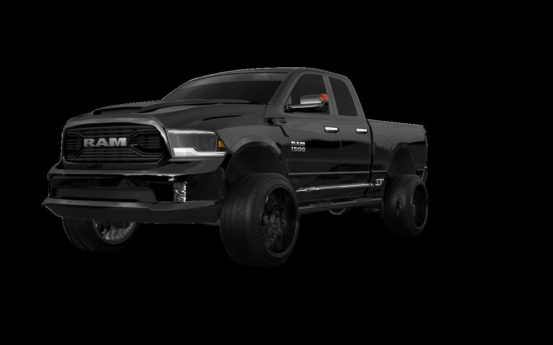 Dodge Ram 1500 Quad-Cab 4 door 2014 tuning