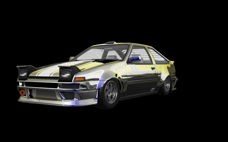 Toyota AE86 3 Door Hatchback 1985 tuning