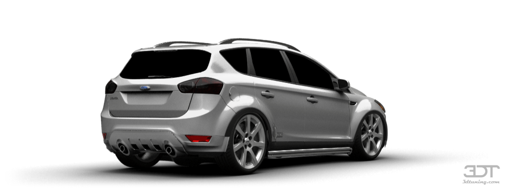 3dtuning Of Ford Kuga Crossover 2008 3dtuning Com Unique