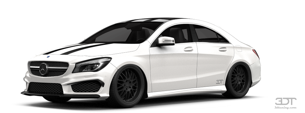 Mercedes CLA class 4 Door Coupe 2014 tuning