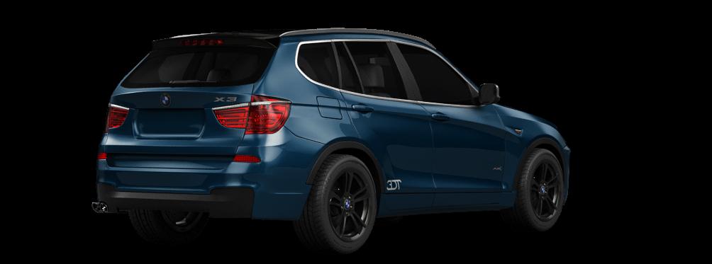 BMW X3 Crossover 2012 tuning