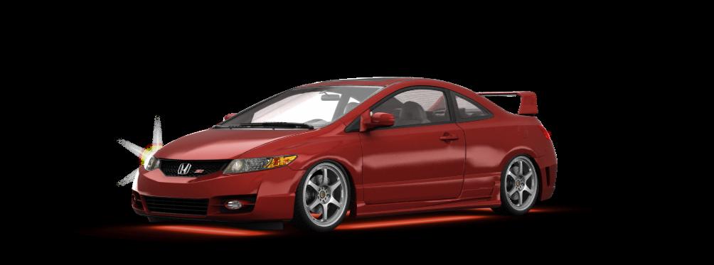 Honda Civic Si Coupe 2006 tuning