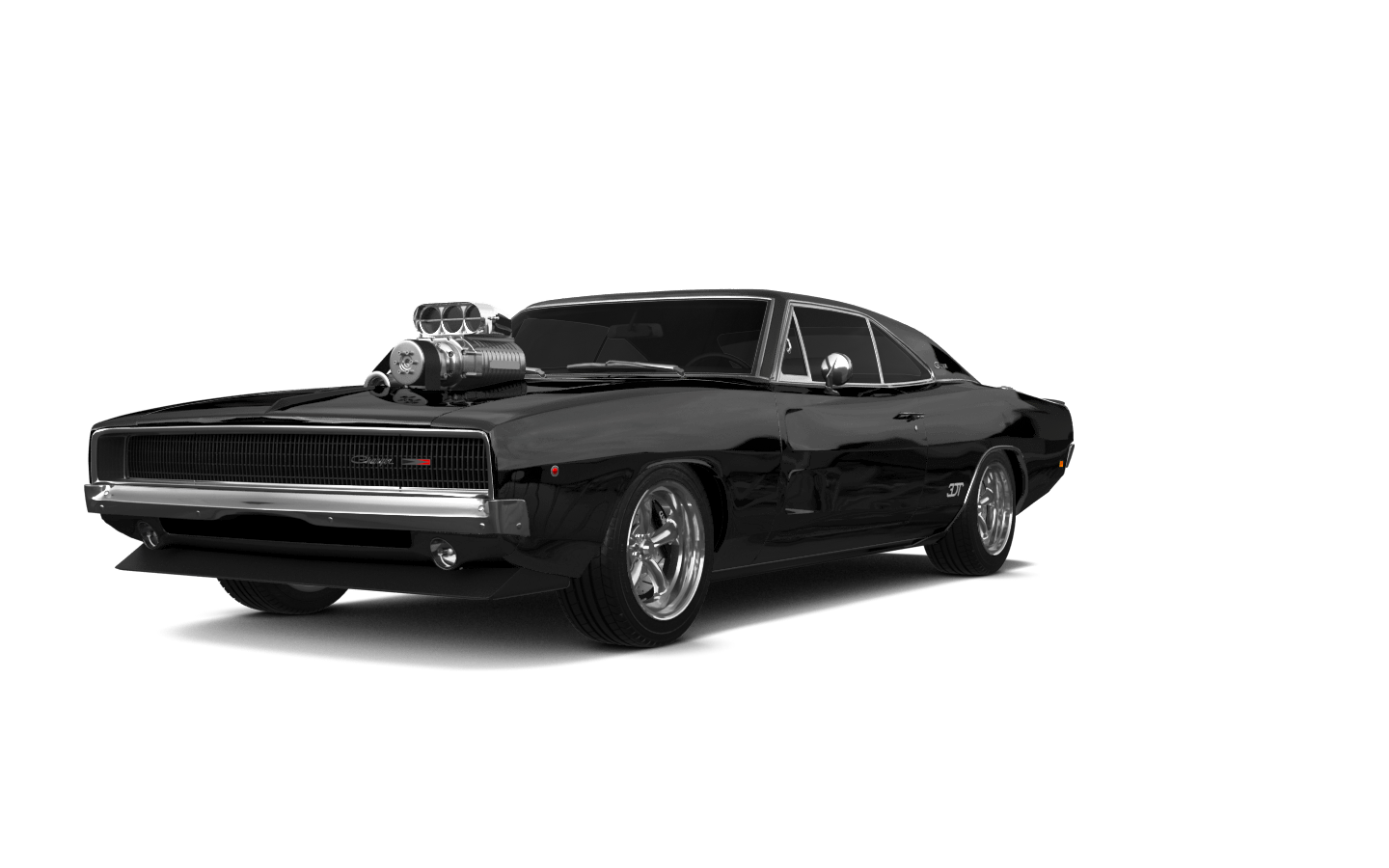 Dodge Charger 2 Door Coupe 1969 tuning