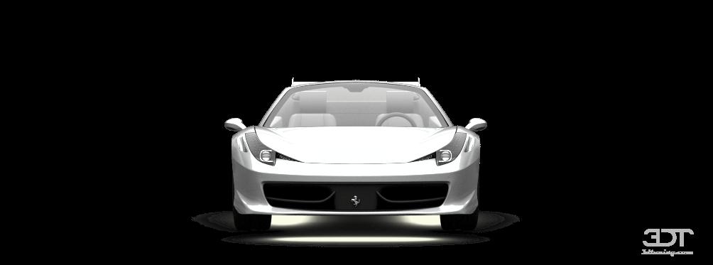 Ferrari 458 Spyder Coupe'12