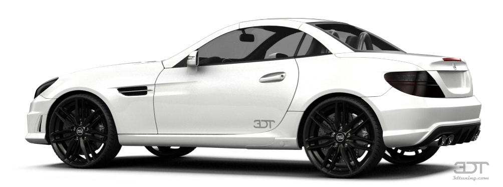 Mercedes SLK class Coupe 2012 tuning