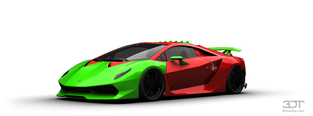 3dtuning Styling And Tuning Disk Neon Iridescent Car Paint Tons Of