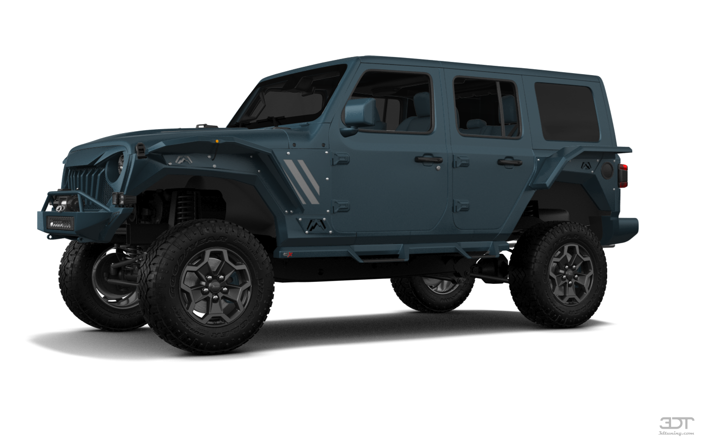 Jeep Wrangler Rubicon JL 4 Door SUV 2017 tuning