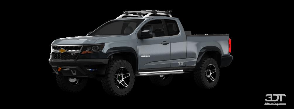 Chevrolet Colorado ShortCab Truck 2015 tuning