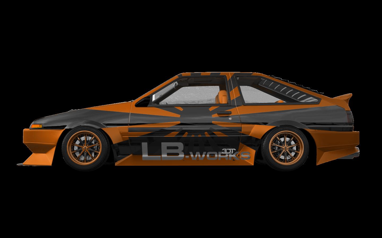 Toyota AE86'85