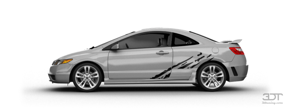 3dtuning Of Honda Civic Si Coupe 2006 3dtuning Com