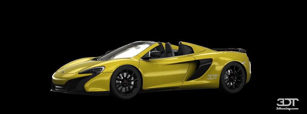 McLaren 650S Spider'15