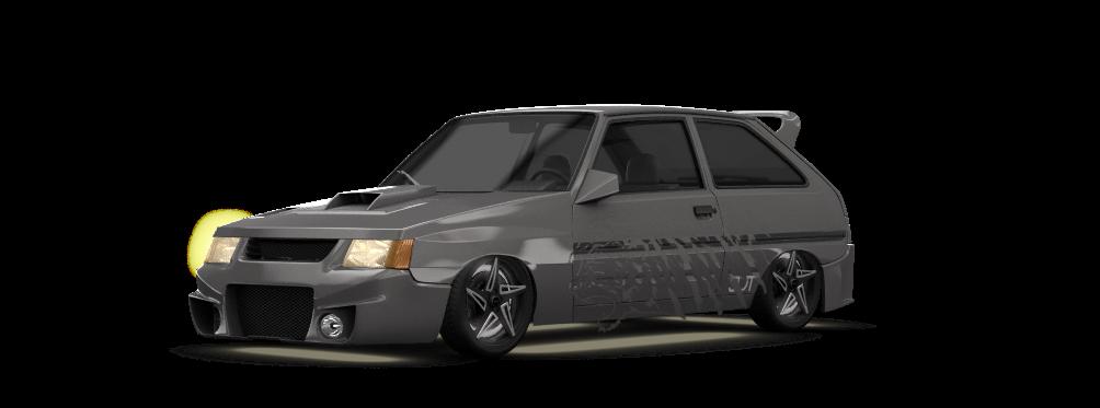 ZAZ 1102 Tavria 3 Door Hatchback 1990 tuning