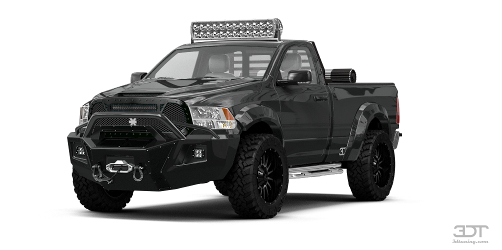 3dtuning Of Dodge Ram 1500 Regular Cab Truck 2114 3dtuning