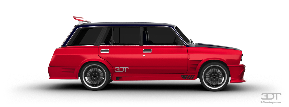 3dtuning Of Lada 2104 Wagon 1984 3dtuning Com Unique On