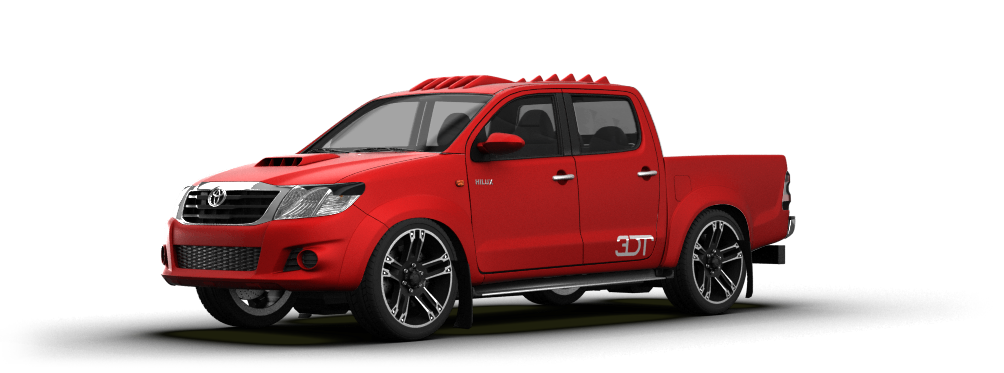 Toyota Hilux Pickup 2009 tuning