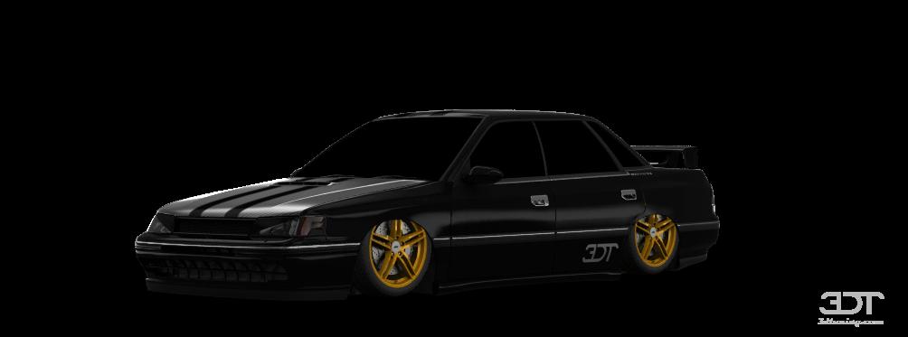 Subaru Legacy sedan 1990 tuning