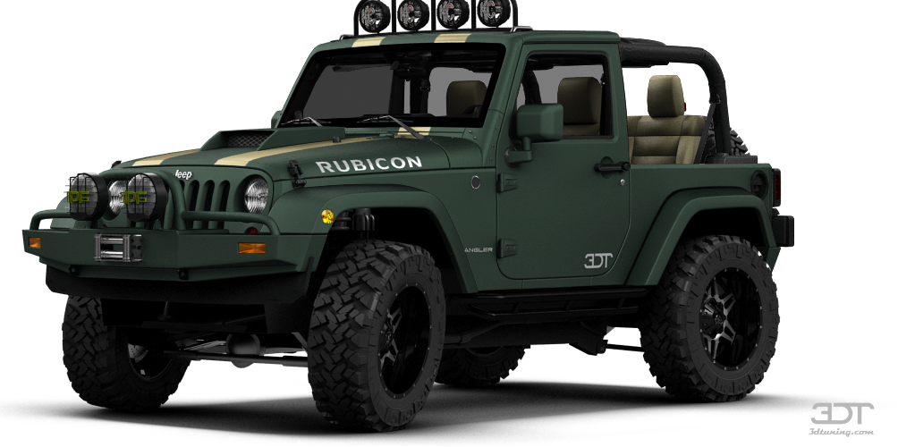Jeep Wrangler Rubicon Convertible 2013 tuning