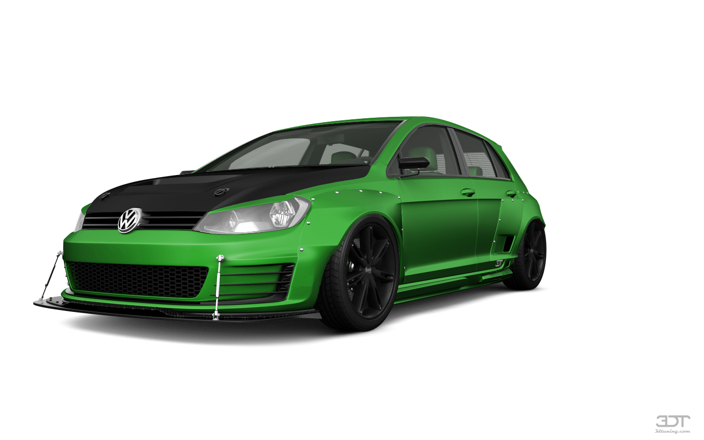 Volkswagen Golf 7 5 Door Hatchback 2013 tuning