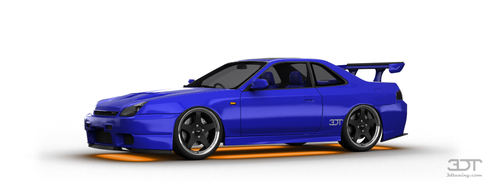 Honda Prelude SiR Coupe 2000 tuning