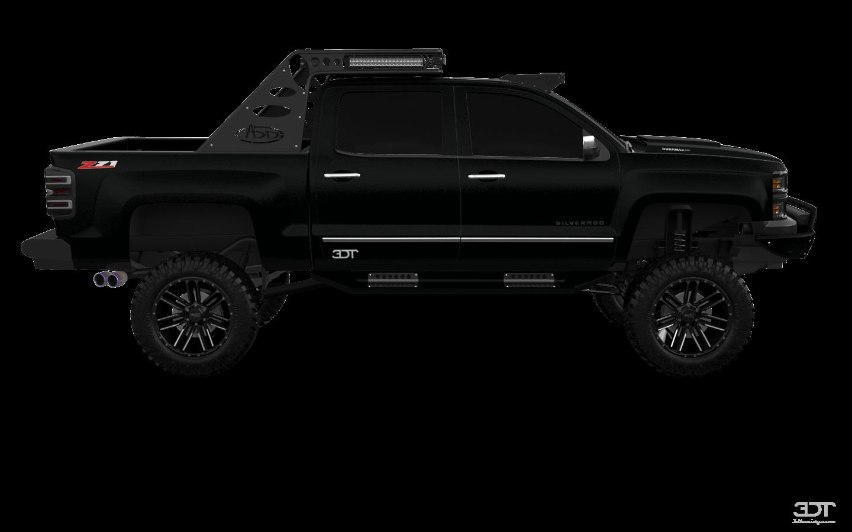 Chevrolet Silverado 1500 4 Door pickup truck 2014 tuning