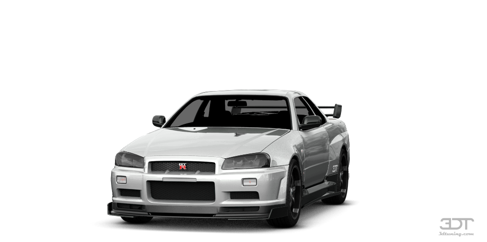Nissan Skyline GT-R'01 by Frost_Anderson