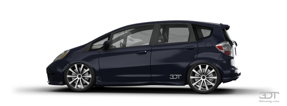 3dtuning Of Honda Fit Sport 5 Door Hatchback 2009 3dtuning